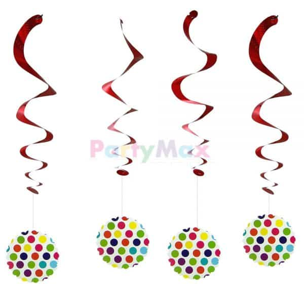 FESTON ESPIRAL POLKA MULTICOLOR*4