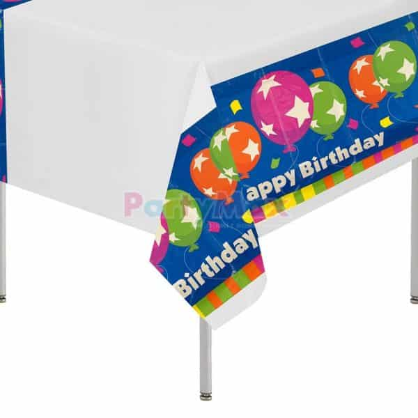 MANTEL HAPPY BIRHTDAY RECTANGULAR