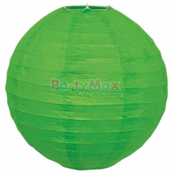 GLOBO CHINO PAPEL 30CMS VERDE LIMA