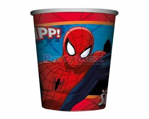 VASO 9.OZ PERSONAJES SPIDERMAN*8