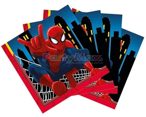 SERVILLETAS PEQ PERSONAJES SPIDERMAN*16