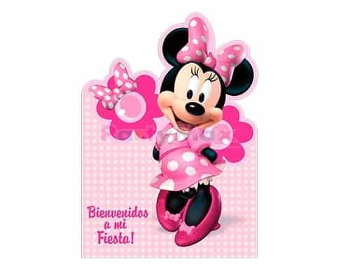 INVITACION PERSONAJES MINNIE BOWTIQUE*8